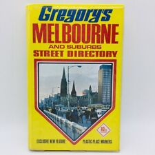 GREGORY'S MELBOURNE 10th EDITION STREET DIRECTORY HARDCOVER BOOK Maps Retro