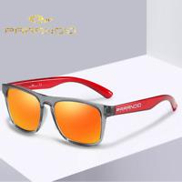 Men Women Polarized Sport Sunglasses Outdoor Driving Square Summer Glasses New