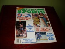 John McEnroe-Gus Williams-Chicago Baseball: Inside Sports: March 1985