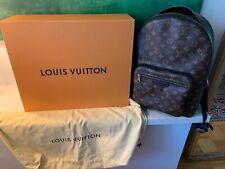 LOUIS VUITTON Josh Rucksack Backpack - Monogram Macassar Canvas-Leder - Tasche