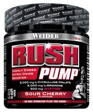 (74,64€/kg) Weider Rush Pump Booster L-Arginin Sour Cherry 375g Dose
