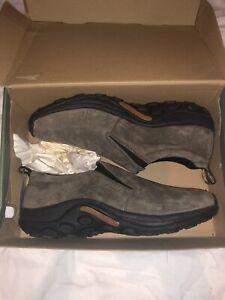 Size 13 Merrell Jungle Moc Gunsmoke Slip-On Shoe Loafer Men's U.S.