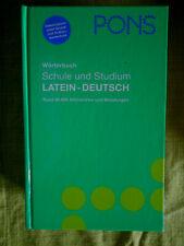 PONS Wörterbuch für Schule und Studium / Latein-Deutsch. PONS-Wörterbücher