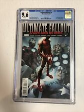 Ultimate Fallout (2011) # 4 (CGC 9.6| WP) 1st App Miles Morales ! 1st Print