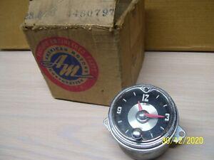 NOS NASH RAMBLER 1953 DASH CLOCK IN BOX