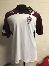 Colorado Rapids Adidas Authentic White Away ClimaCool Jersey Size X-Large XL