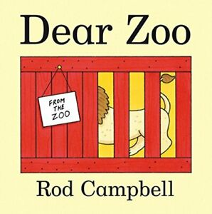 Dear Zoo: Lift the Flaps by Rod Campbell Board book Book The Cheap Fast Free