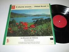 LP/IL CHANTE ENCORE I ABBE BOVET II/KAELIN/AEBI/Switzerland TLP 5035 FOC