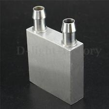 Aluminum Water Cooling Block for CPU Graphics Radiator Heatsink 40*40*12 NEW