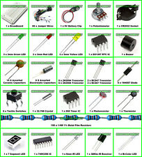 Electronic Project Kit C Pro Starter Arduino BreadBoard,Wire,Capacitor,Resistors