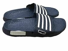 Mens Slip On Sport Sandals Slides Rubber Flip Flops Shower Slippers Navy 8