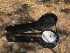 Bryden 6 string banjo mint condition