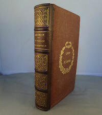 GOLDSMITH / LE VICAIRE DE WAKEFIELD / 1867 (Texte anglais français en regard)