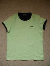 MAINE Green Crew Neck short sleeve T-shirt top by Maine size 12