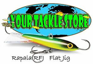 Rapala RFJ04 Flat Jig Pick Color & Qty NIP