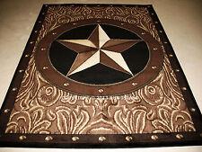 """5x8 (5'3"""" x 7'2"""") Texas Star Western Southwestern Area Rug"""