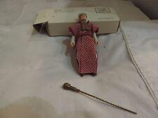 Vintage Indiana Jones ROLA Belloq Baggie Mail Away Figure With Mailer