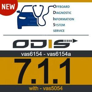*ODIS 7.1.1* NEW *VAG - SOFTWARE - *VAS6154/ - VAS6154A**With VAS5054* NEW
