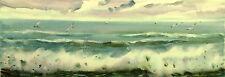 "Original painting by V. Bodiaj ""SEASCAPE"""