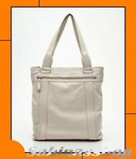 MANDARINA DUCK®♥BORSA DONNA GRANDE BIG SHOPPING GRACE in VERA PELLE AVORIO♥NUOVA