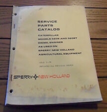 New Holland Service Parts Catalog Caterpillar Models 3208 & 3208T Diesel Engines