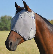 Cashel Crusader Cool Fly Mask for Standard Yearling Horse Pony sun protection