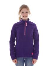 O`Neill Fleece Pullover Function Top Slope Purple half Zip Warming