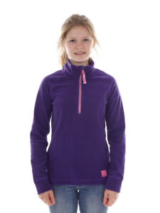 O`Neill Fleece Pullover Function Top Slope Purple half Zip Warming