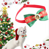 Christmas Dog Cat Pet Puppy Bow knot Necktie Collar Bow Tie Clothes Cute Toys *1