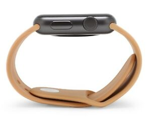 BROWN Silicone Sport Band Strap For Apple Watch Series 6,5,4,3,2 38/40/42/44 mm