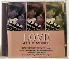 Love At The Movies: 12 Romantic Themes (CD 1999 St Clair Entertainment)