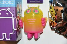 Android S 06 Svytejimas Nathan Jurevicius Scary Girl Vinyl Toy Figure Robot Owl