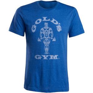Gold's Gym Muscle Joe T-Shirt - Blue