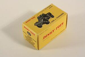 """Dinky Toys 814, """"AML"""" Panhard, only Box                  #ab1948"""