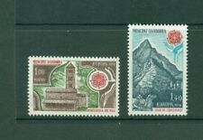 Andorra (French) #262-63 (1978 Europa set) VFMNH CV $8.50