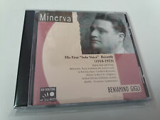 "BENIAMINO GIGLI ""HIS FIRST SOLO VOICE RECORDS 1918-1923"" CD 20 TRACKS"