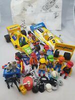 Playmobil Racing Car F1 LeMans Bundle figures and Accesories 1979-1994 vintage