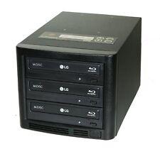 Copystars Blu Ray Duplicator 1 to 2 16X BD-R BDXL Mdisc CD Dvd Burner Tower