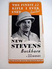 "Colpire Vintage Brochure Per "" J.Stevens Braccia Company "" W / Frank Buck Su"