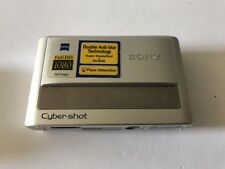 Sony Cyber-shot DSC-T20 8.1MP Digital Camera - Silver - needs battery & charger