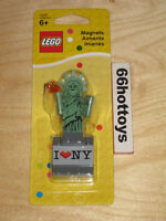 LEGO Magnet Statue of Liberty NY Factory Sealed I LOVE NEW YORK 850497 NEW