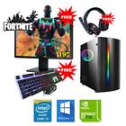 PC Gamer Fixe Ordinateur Gaming Intel QuadCore i5 HDD 2To Win10 Nvidia GT710 2Go