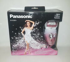 Panasonic ES-ED90-P Wet Dry Epilator Shaver w/ 6 Attachments