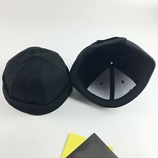1x Skullcap Sailor Caps Hat Beanie Black Rolled Cuff Retro Mens Fashion Brimless