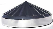 """hub caps(4) rear 8"""" I.D. pin wheel chrome for Kenworth Freightliner Peterbilt"""