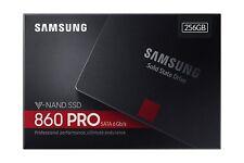 """HARD DISK  STATO SOLIDO SSD Samsung 860 PRO 256GB SATA 3 2,5"""" NUOVO MODELLO 2018"""