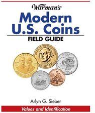 Warman's Modern U.S. Coin Field Guide Values & Identification Book By A. Sieber