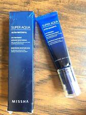 MISSHA Super Aqua Ultra Water-Full Eye Treatment Intensive Moisturizing K-beauty