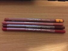 4 X Maybelline Line Stylist Lip Liner Bundle, Red, Coffee,Mauve and Pink ,Sealed