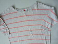 Women's H&M knit top jumper grey color  size 38 UK M